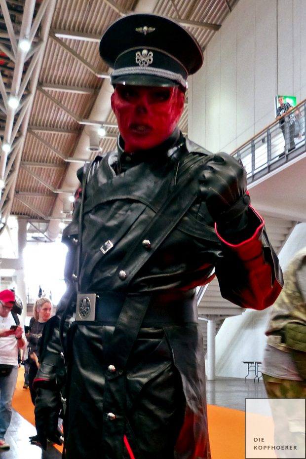 MCM Comic Con Hannover 2017 Red Skull