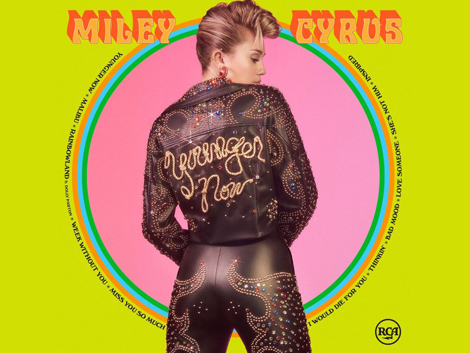 Miley Cyrus CD Cover