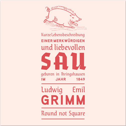 Merkwürdige Sau Grimm